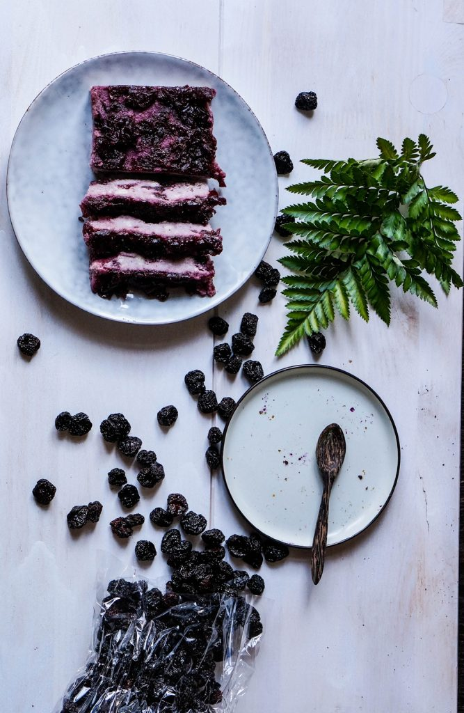 Vegan Soft Coconut Cherry Cake Glutenfree Refined Sugarfree