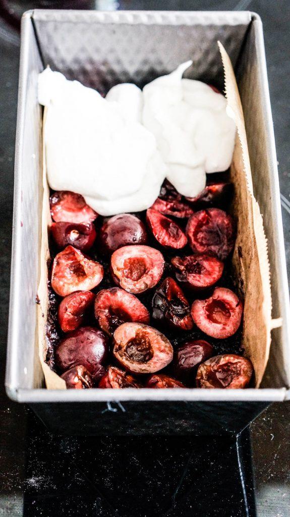 Vegan Snow White Slice No-bake, raw and glutenfree