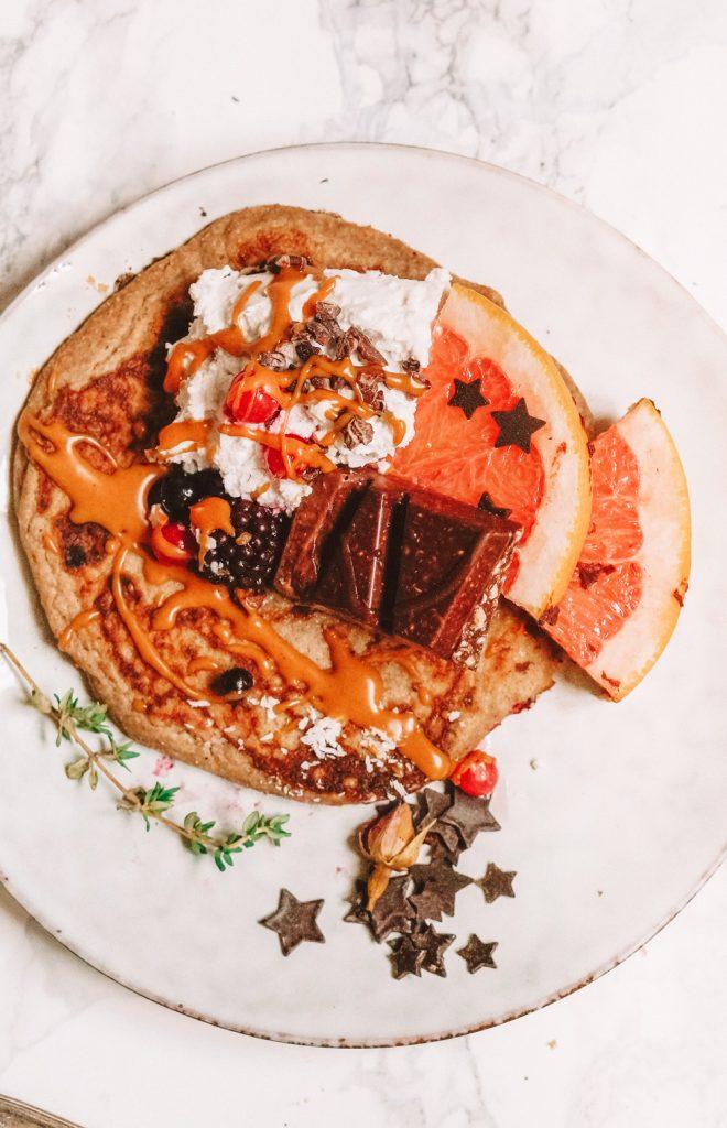 2-Ingredient Vegan Pancakes