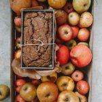 Glutenfree Vegan Walnut Prune Bread
