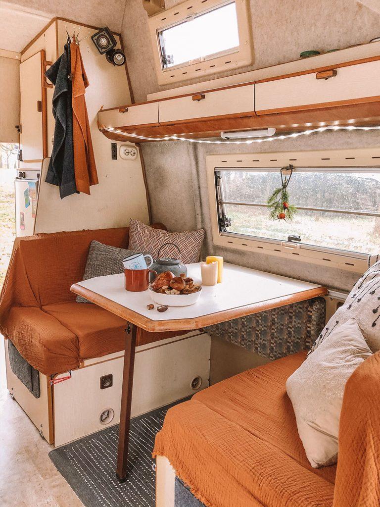 Cozy Campervan Transformation on a Budget