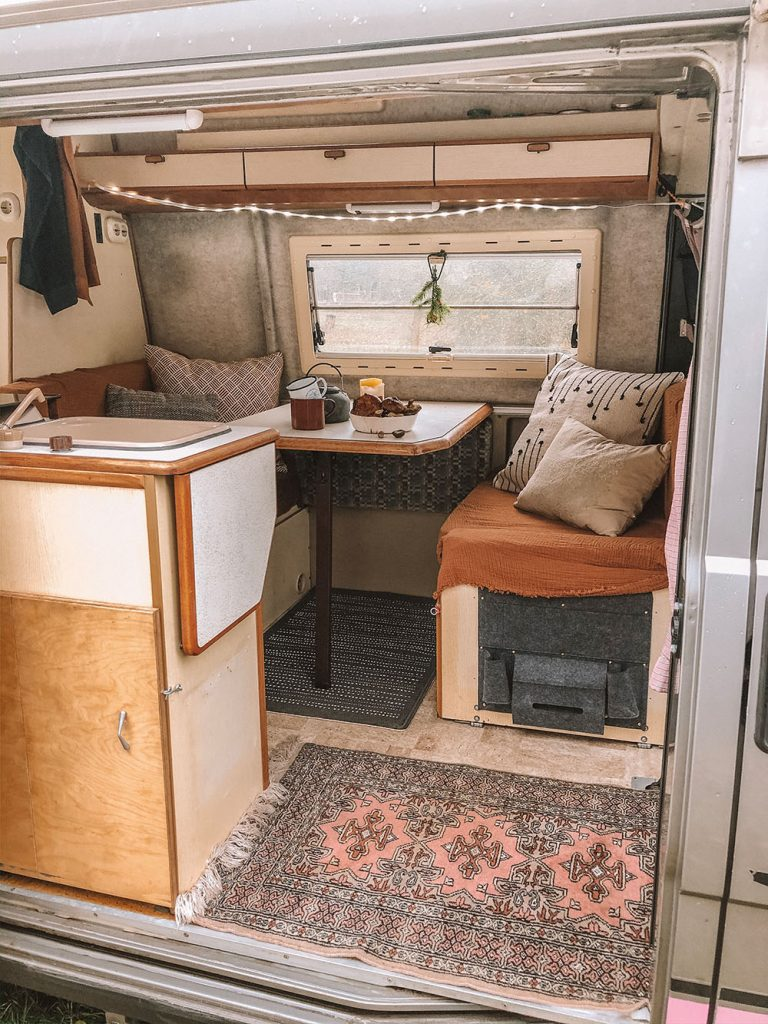 Camper van Transformation on a Budget