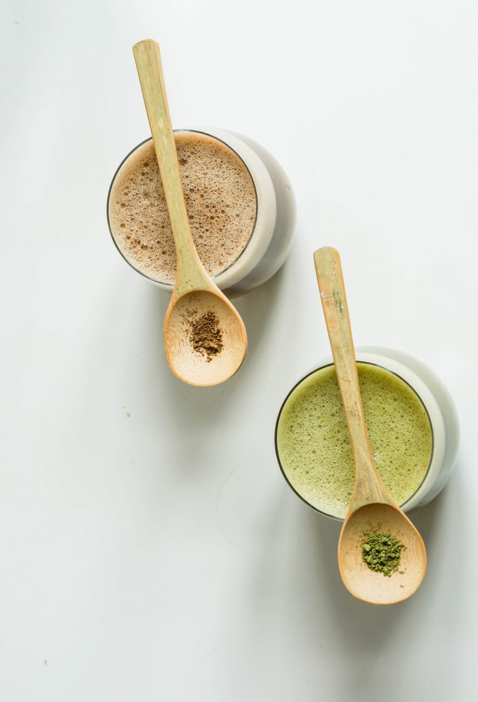 Sugarfree Clean Cinnamon Matcha Using your Blender Vegan