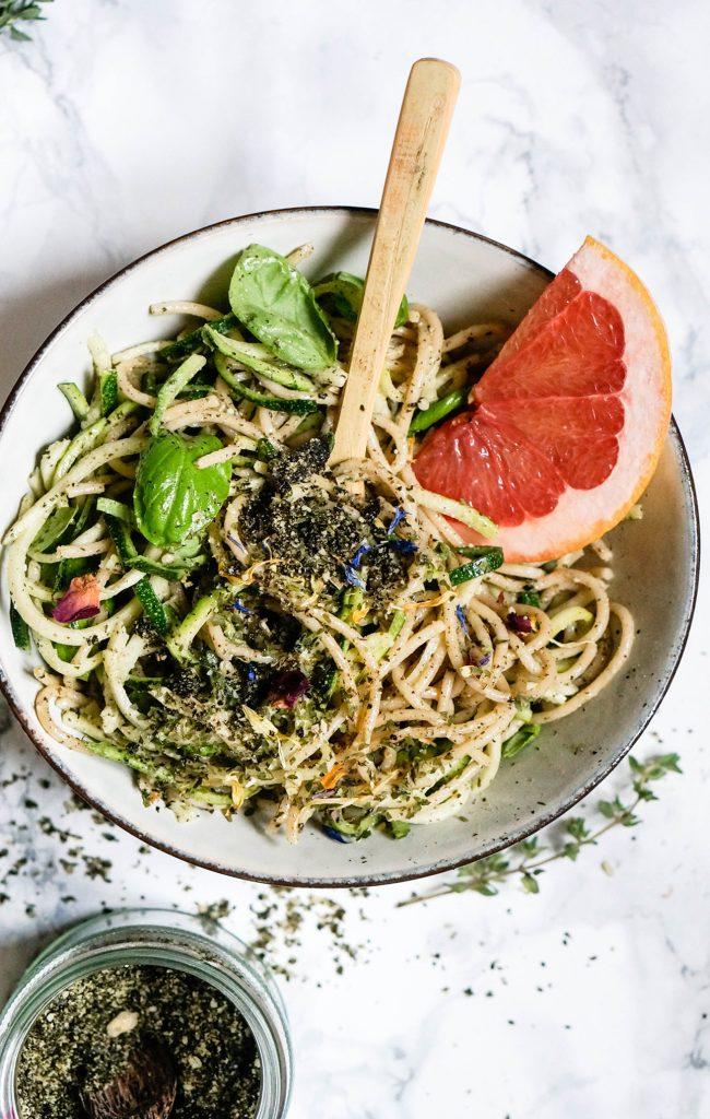 B12 Boosting Seaweed Pesto