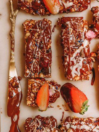 Deluxe Chocolate Granola Bars