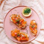 Vegan Smoked salmon Lox