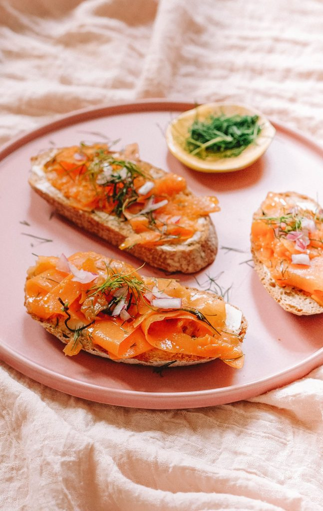 Vegan Smoked Salmon Lox