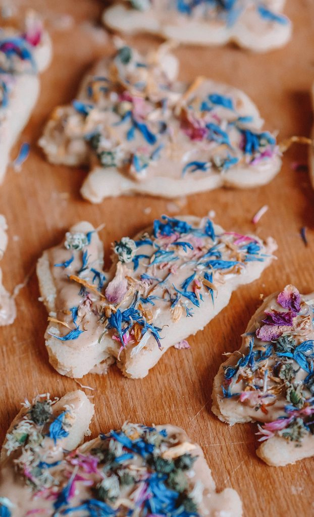 Wildflower Shortbread Bunnies