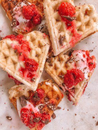 Oilfree Vegan Waffles