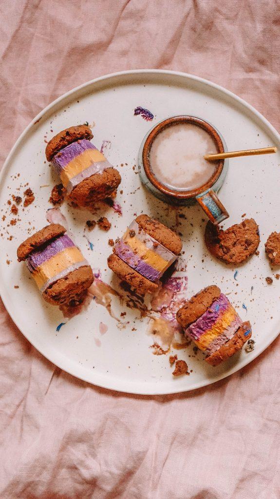 Glutenfree Vegan Ice Cream Sandwiches